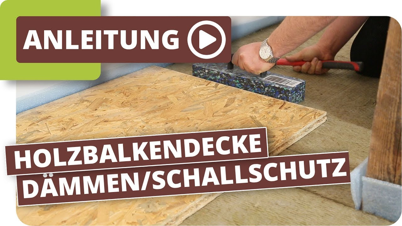 trittschalld mmung auf holzdecken wie verbessere ich die akustik youtube. Black Bedroom Furniture Sets. Home Design Ideas