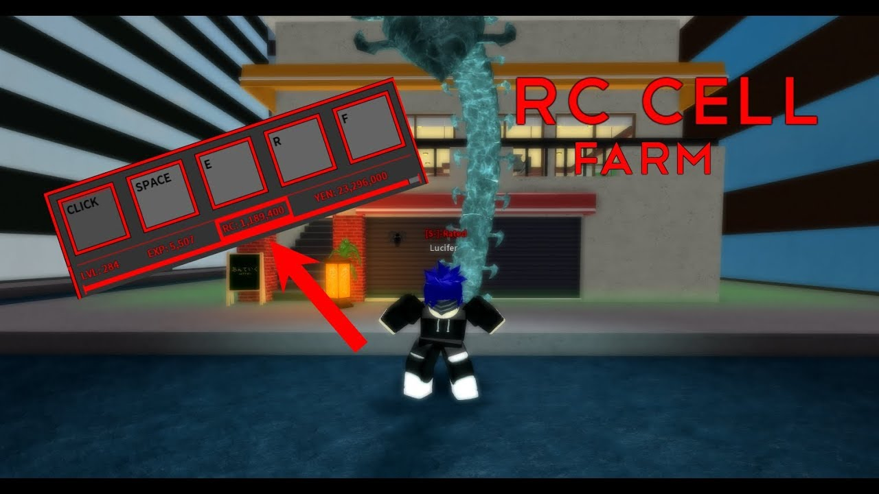 Ro Ghoul How To Get Rc Cells Fast Youtube