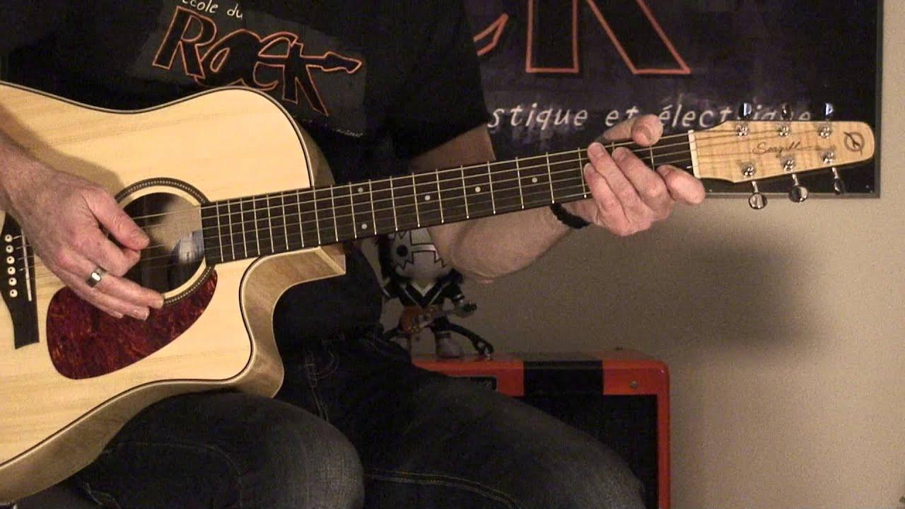 guitare acoustique blues rock