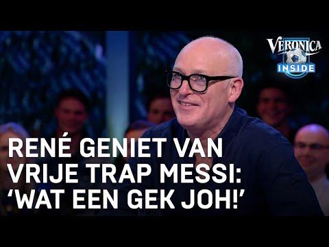 René geniet van doelpunt Messi: 'Wat een gek joh!'   CHAMPIONS LEAGUE