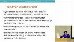 Raija Vahasalo: Suomen koulutusjärjestelmän keskeiset kehittämistavoitteet