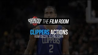 Ram Decoy to Pin Down || Clippers Actions