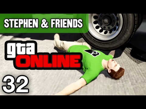 "GTA Online #32 - ""Explosive Traffic Jam"""