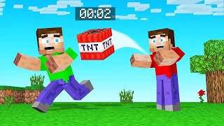 PASS The TNT Or YOU BLOW UP! (Minecraft)