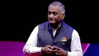 Peace reigns supreme - Operation Raahat | General V.K. Singh | TEDxHyderabad