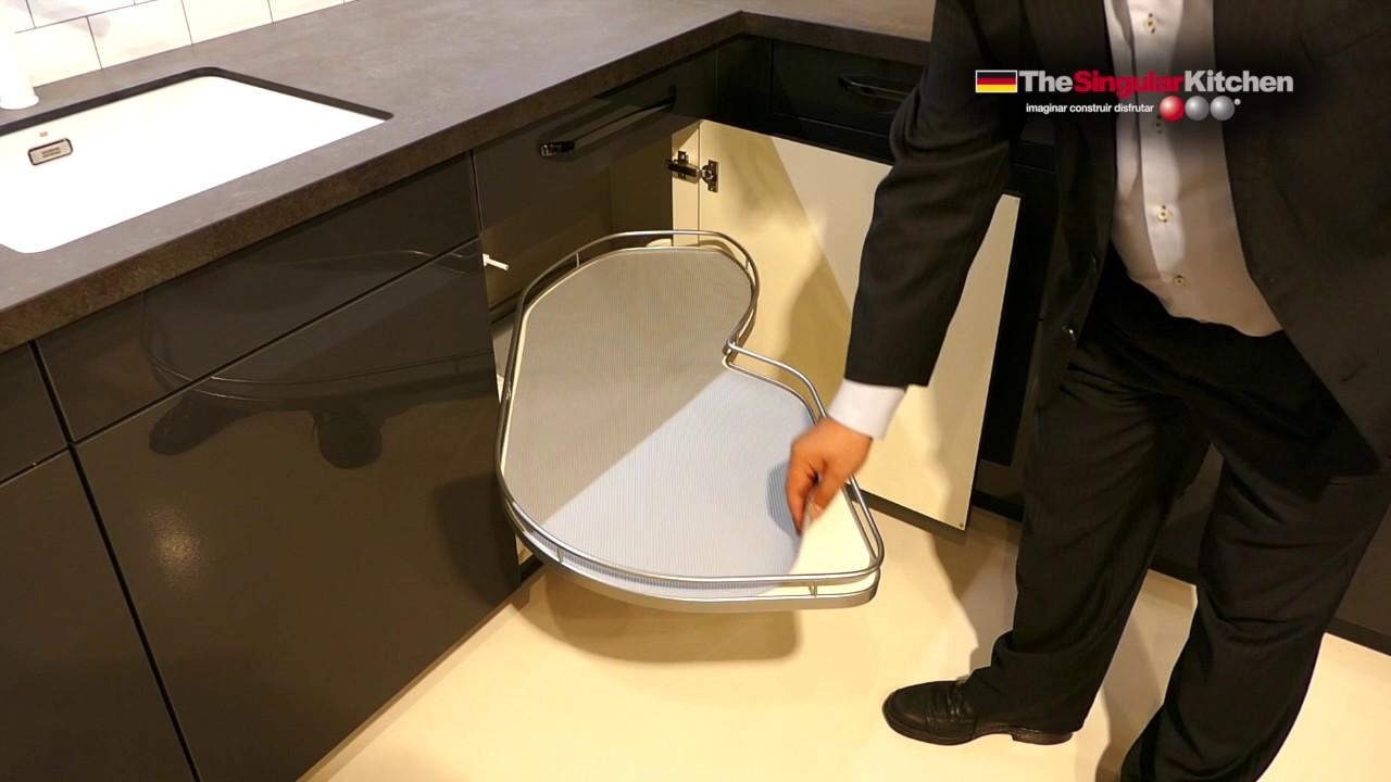 Soluciones en muebles de cocina: Lemans - YouTube