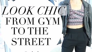 STYLING WORKOUT CLOTHES | TRACY CAMPOLI | WORK IT WEAR IT