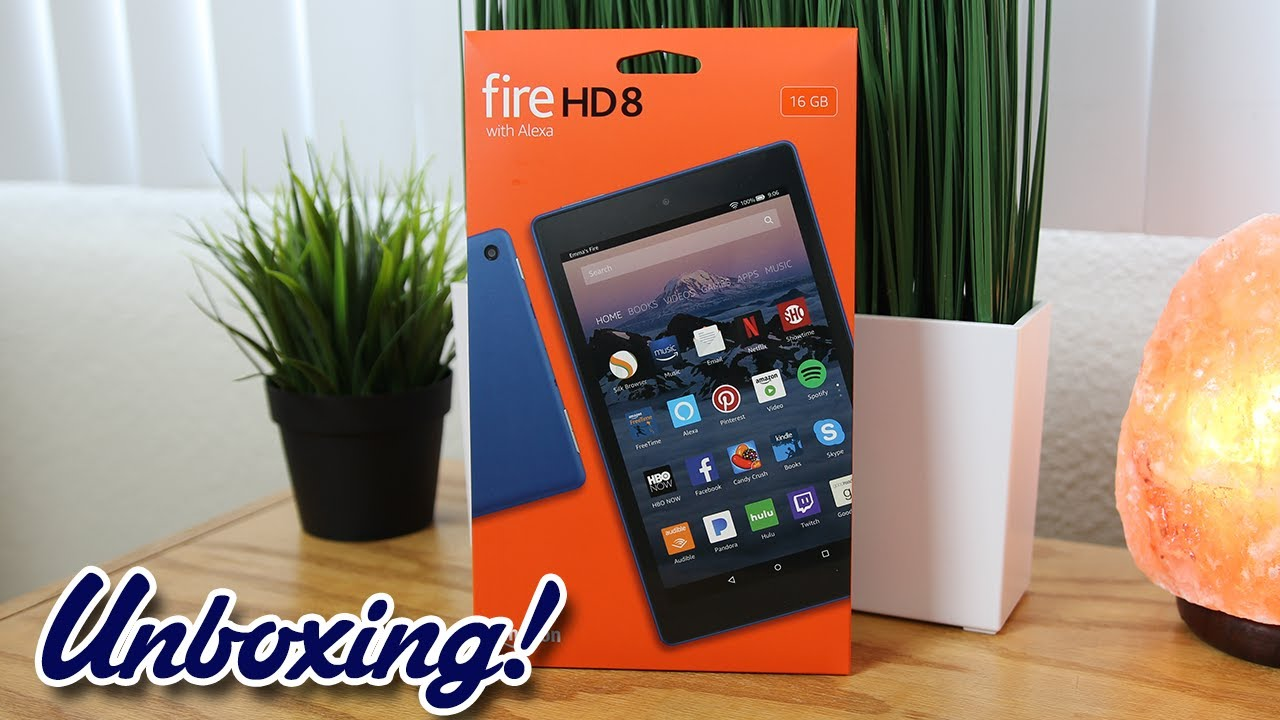 6760f27c11e2 Unboxing  Amazon Fire HD 8 Tablet with Alexa (New for 2017) - YouTube