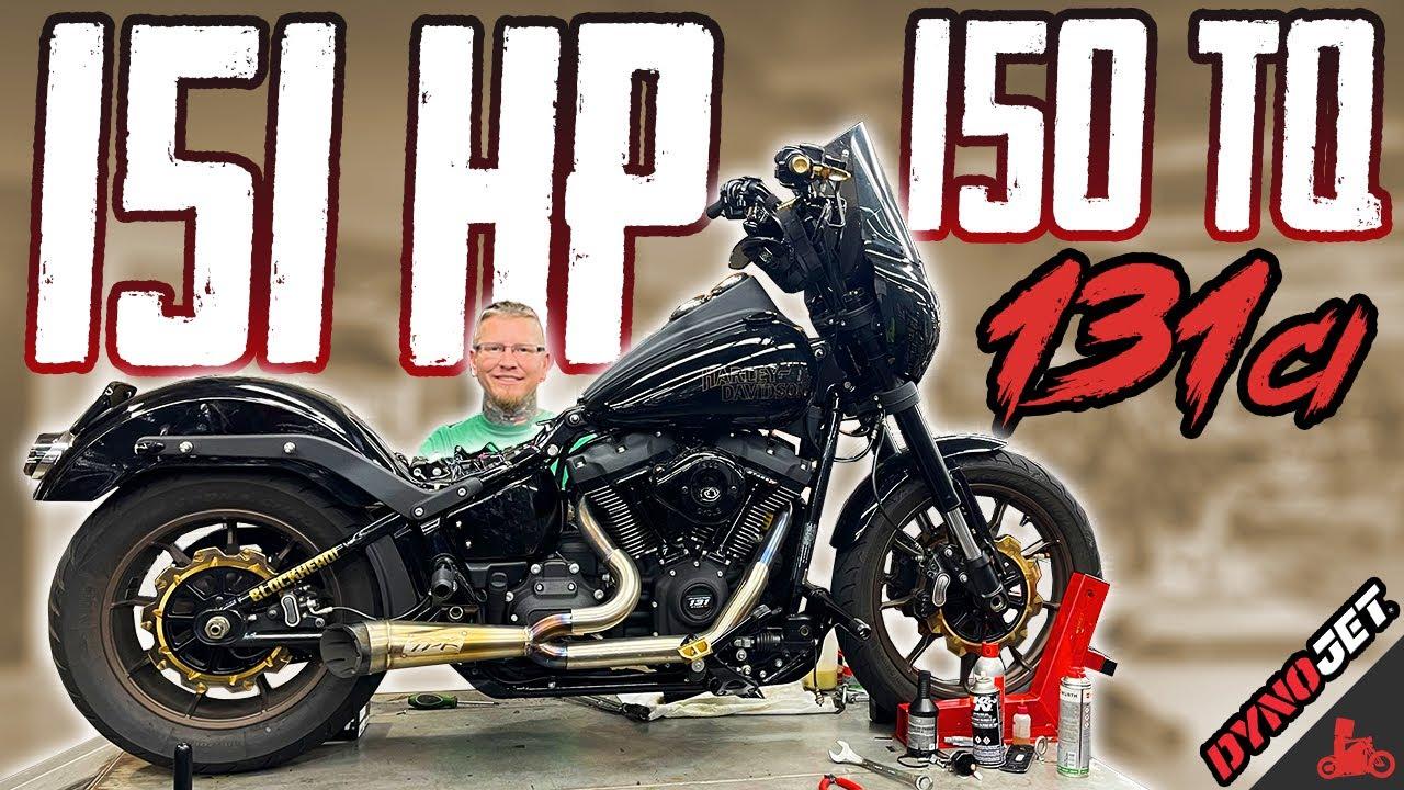151 HP / 150 TQ HARLEY SOFTAIL!
