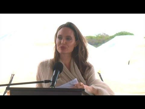 Angelina Jolie pide ayuda humanitaria en Venezuela