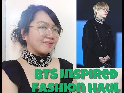 BTS Inspired Fashion Haul || F21, SM Youth, and Landmark