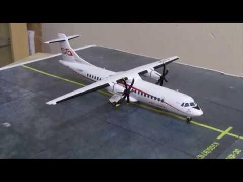 Air Tahiti  1/144 ATR 72 part 2