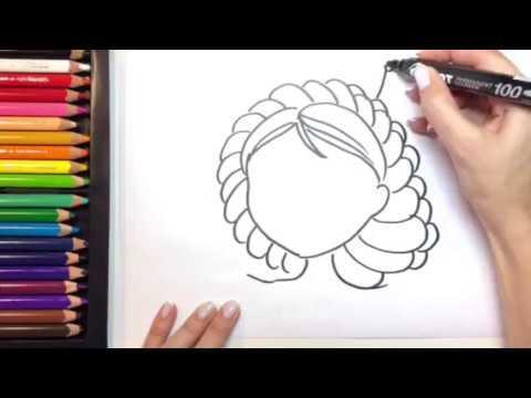 Царевны, раскраска. Василиса. Царевна-лягушка. Развивающее видео для детей.