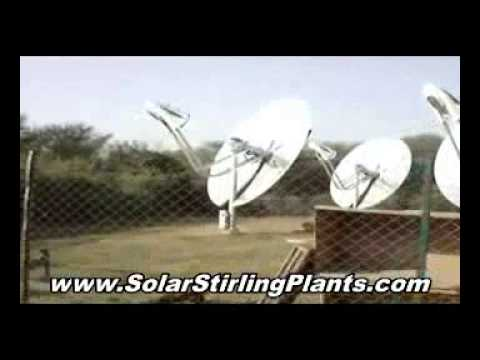 SOLAR STIRLING FREE ENERGY you can have right now!