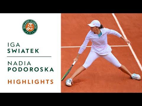 Iga Swiatek vs Nadia Podoroska - Semi-final Highlights I Roland-Garros 2020