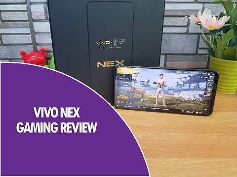Vivo Nex Gaming Review With PUBG (Heating Test And Battery Drain)