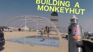 Camp Upsie Dasium - Monkey Hut And Tower Building
