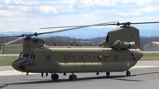 CH 47 Chinook Start Take Off 18Mar19