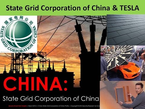 Emerging Power Companies : State Grid Corporation of China & TESLA support for Solar Power