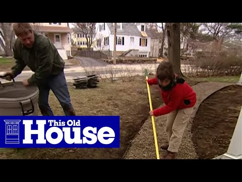 How to Build a Flagstone Walkway - This Old House