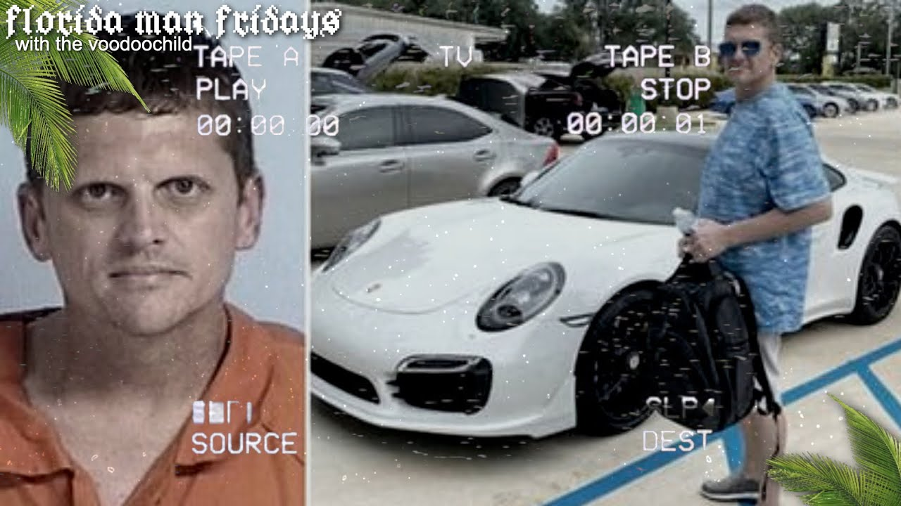 HE GOT A PORSCHE WITH MONEY HE PRINTED AT HOME! +MORE  | Florida Man Fridays #LIVE