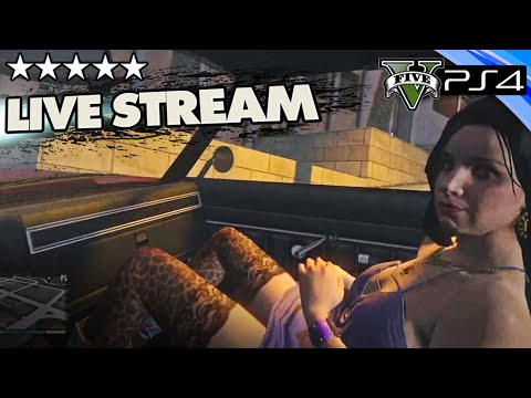 GTA 5 Online First Person: Search for Hookers - PS4 Livestream w/ GTA V Crew