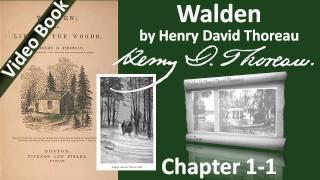 Walden by Henry David Thoreau - Chapter 01-1 - Economy - Part 1