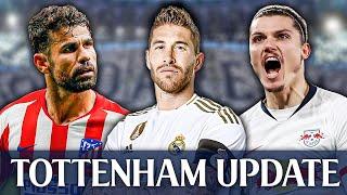 Leipzig Confirm Spurs Interest In Sabitzer | Jose Keen On Sergio Ramos [TOTTENHAM UPDATE]