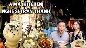 """Ngỡ Ngàng lạc vào quán ăn HongKong """"A MÀ KITCHEN"""" của Nghệ Sĩ Trấn Thành"""