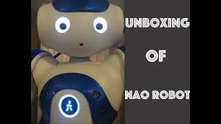 Unboxing and Dancing of NAO Robot