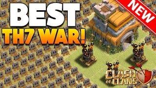 "Clash Of Clans - ""NEW UPDATE!"" TH7 WAR BASE! / CoC BEST TOWN HALL 7 DEFENSE! (WITH 3 AIR DEFENSES!)"