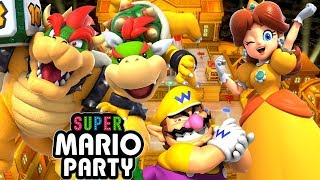 ABM: SUPER MARIO PARTY !! Kamek's Tantalizing Tower !! Gameplay Match !! HD