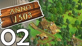 ANNO HISTORY - 1503 #02 - Road to 2205 -  Typisches ANNO-Problem. [Deutsch/Facecam]