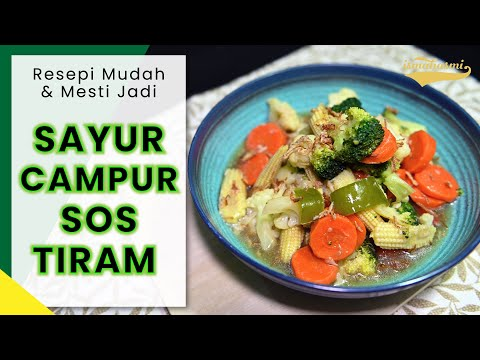 sayur-campur-sos-tiram-(mixed-vegetables-with-oyster-sauce)---resepi-mudah-&-mesti-jadi