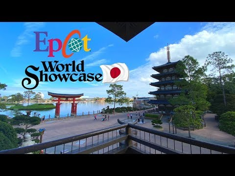 Epcot's Japan Pavilion Full Tour | History | Pick a Pearl | Merchandise & Unique Food!