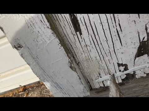 How to repair old rotting wood trim or siding