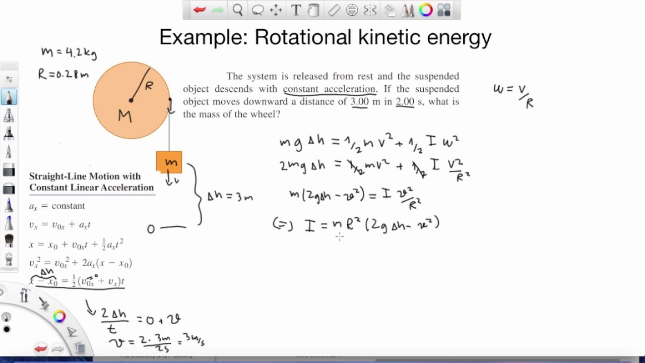 What Is The Equation For Rotational Kinetic Energy ...