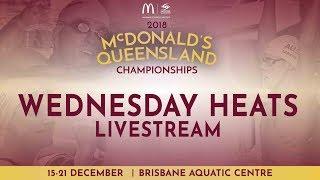 Day 5 Wednesday Heats - 2018 McDonalds QLD Championships