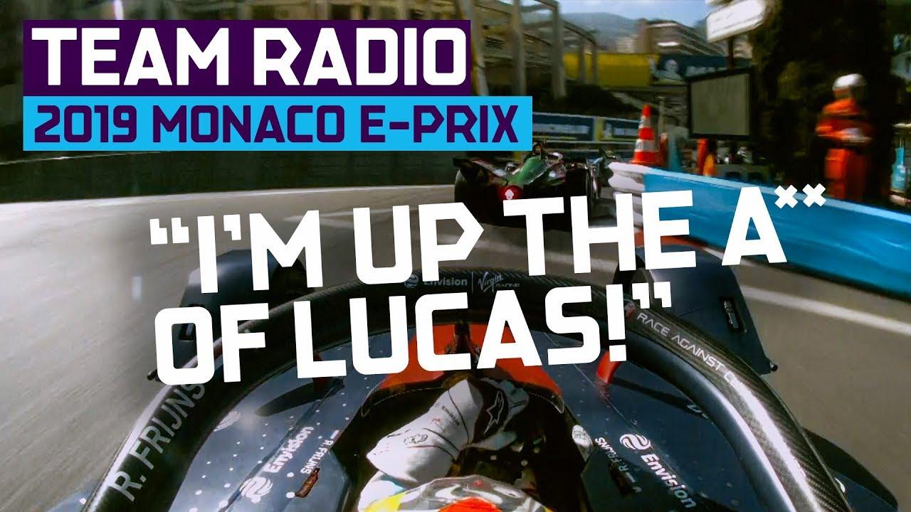 2019 Monaco E-Prix | Team Radio | ABB FIA Formula E Championship