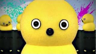 My Keepon - Yellow Dancing Toy Robot (Bodyrockers - I like the way)