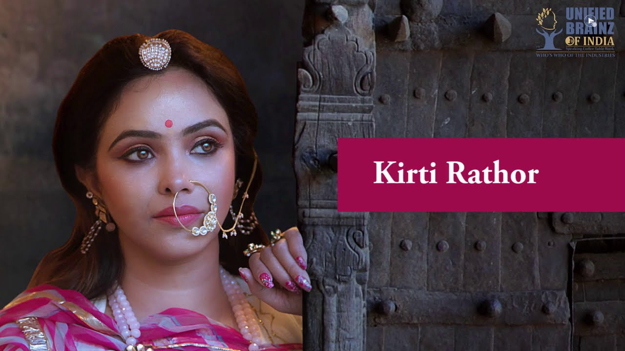 Kirti Rathore Who S Who Of The Industries Rajasthan Youtube