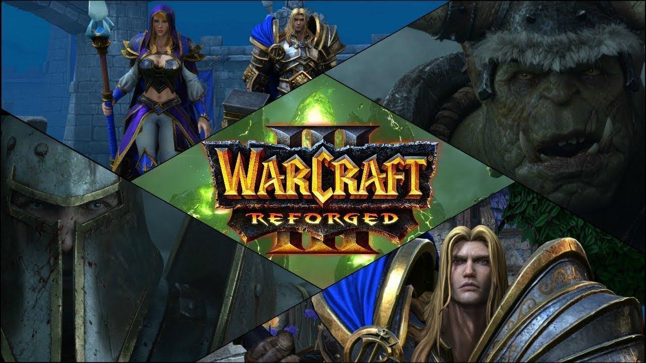 Обзор Warcraft 3 Reforged //Дата выхода //перезапуск//геймплей