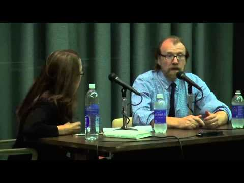 George Saunders G'88 and Dana Spiotta at 2013 Carver Reading Series
