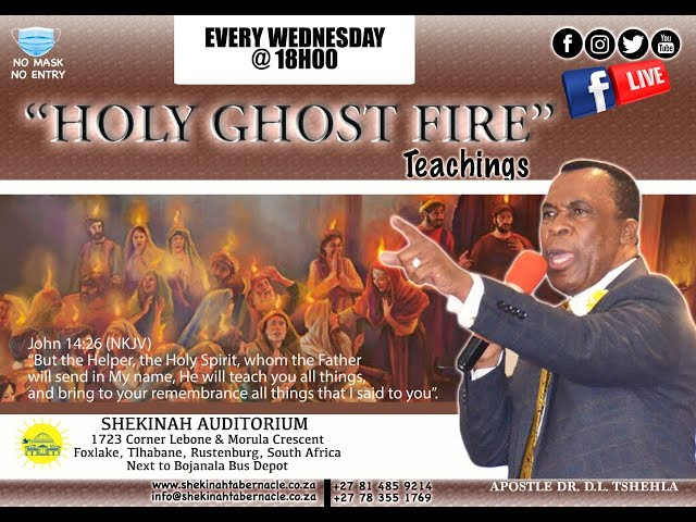 Holy Ghost Fire Teachings  