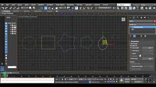 3ds Max 2018 - Spline Morph and Normalize Spline Modifier