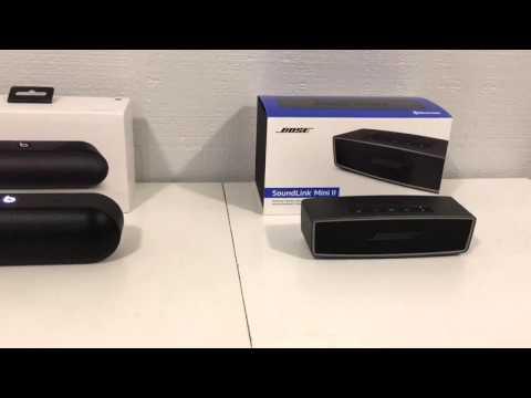 Beats Pill Plus vs Bose SoundLink Mini 2 - YouTube