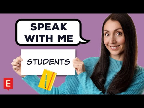 STUDENTS | CONVERSATION PRACTICE | Learn English Speaking