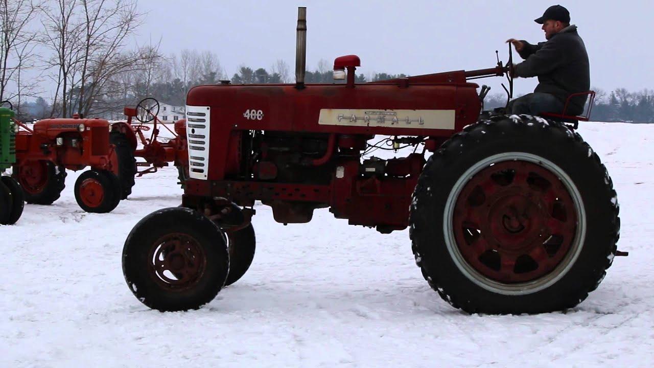 Farmall 400 Tractor : Farmall tractor youtube
