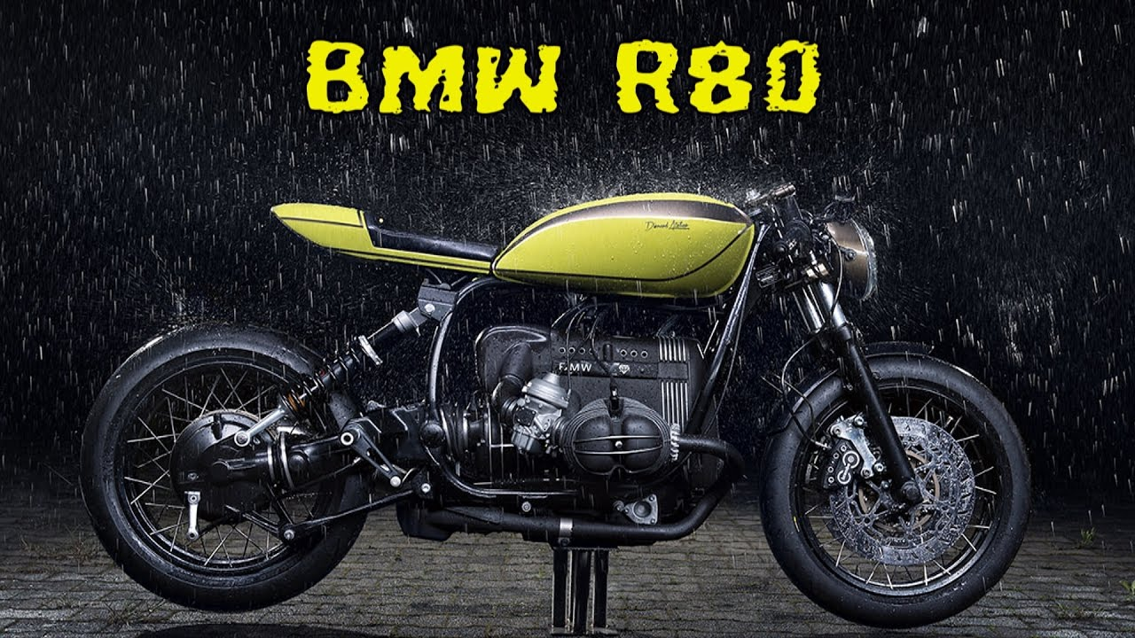 bmw r80 cafe racer - youtube