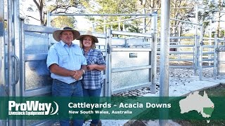 ProWay Cattleyards - Acacia Downs